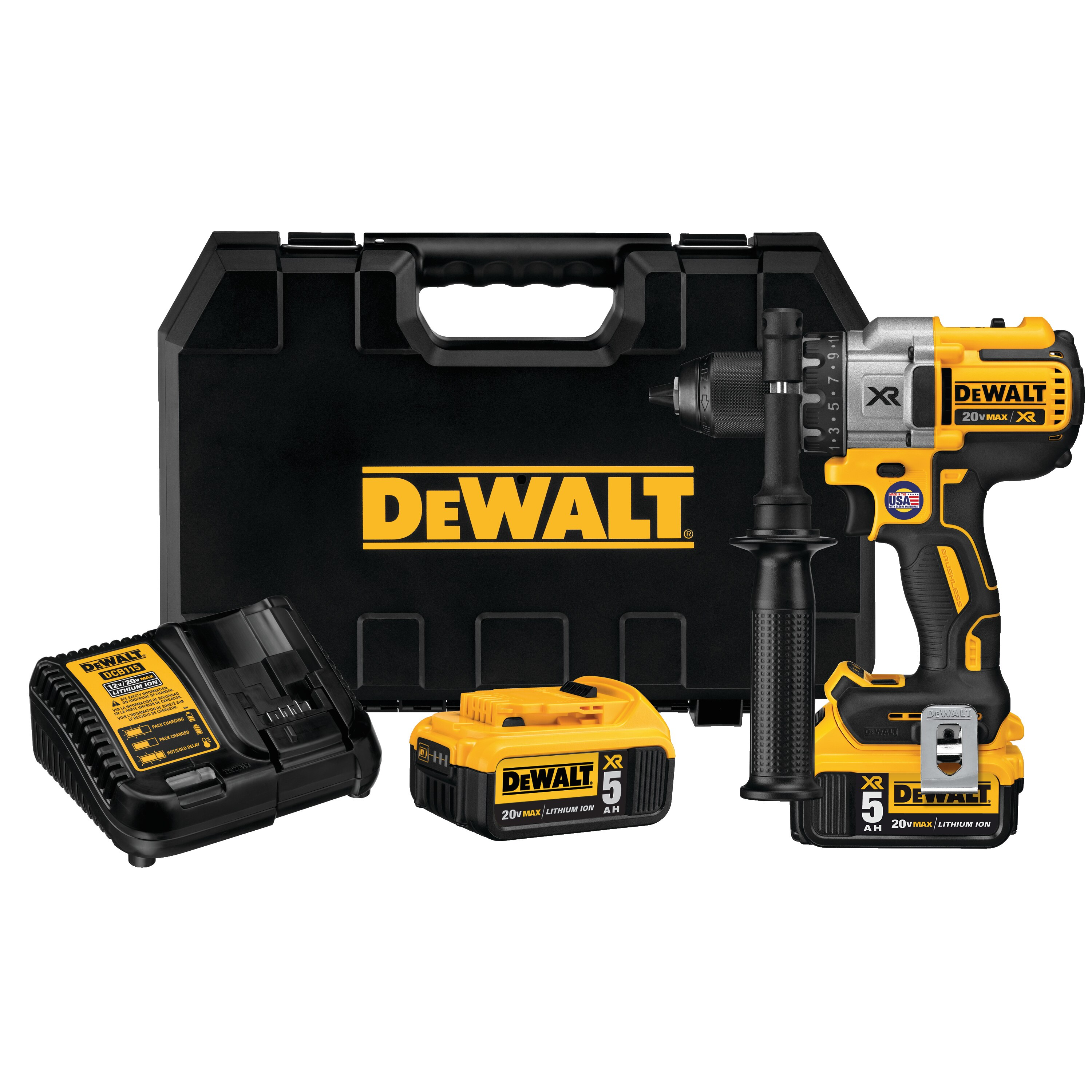 Tool Drill Dewalt 18V Heavy Duty Carrying Case Complete Kit Comes with Battery