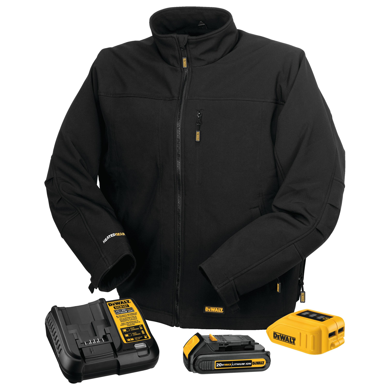 20v Max Lithium Ion Soft Shell Heated Jacket Kit Dchj060c1 Dewalt