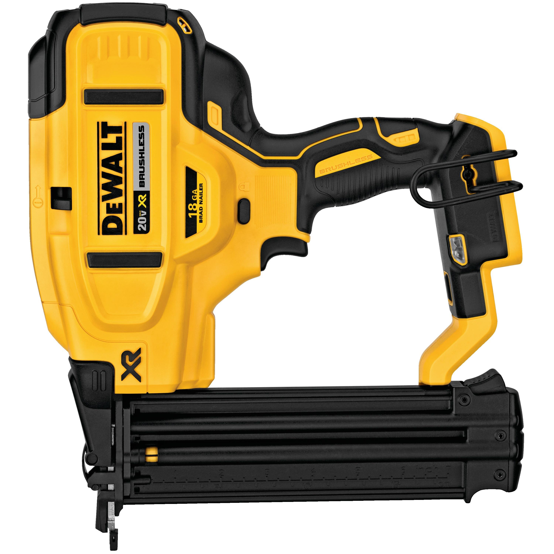 20V MAX* XR® 18 GA Cordless Brad Nailer (Tool Only) - DCN680B | DEWALT