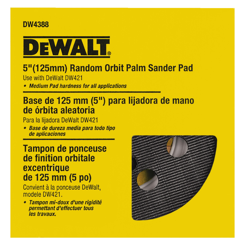 SanderPro Replacement Backing Pad for DeWalt /& Makita 5 DW420 DW421 DW423 DW426 D6253 D26451 BO5010//K BO5030//K BO5031//K XOB01Z