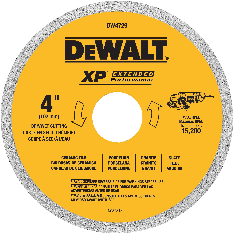 10 X 060 Ceramic Tile Blade Wet Dw4761 Dewalt
