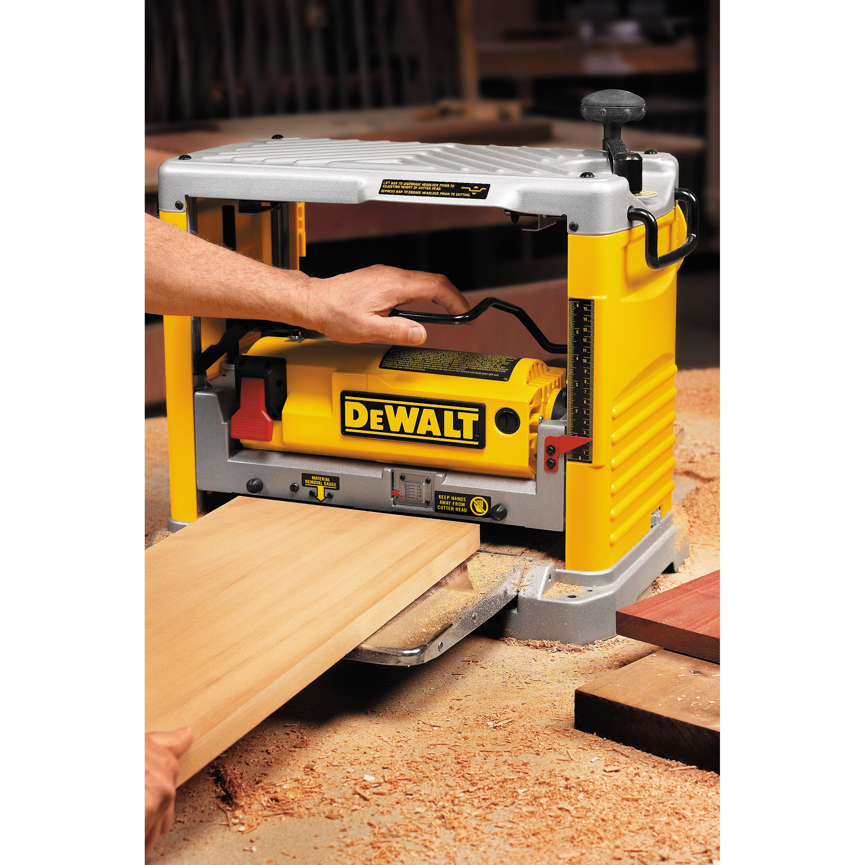12 1 2 Quot Thickness Planer With Three Knife Cutter Head