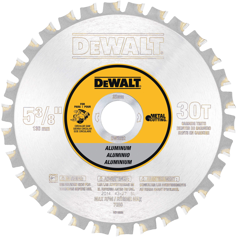 12 Quot 80t Aluminium Cutting Saw Blade 1 Quot Arbor Dw7666 Dewalt