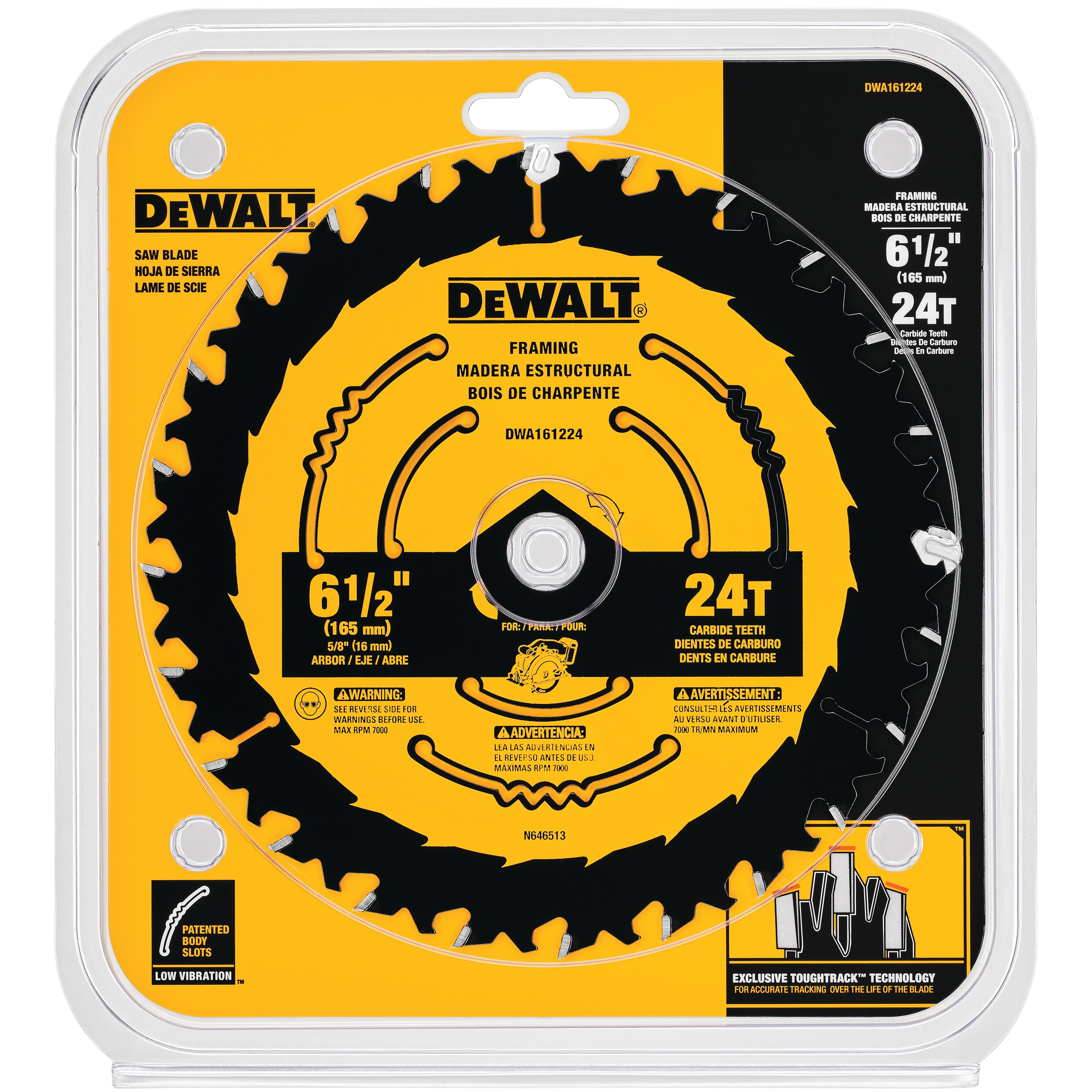 6-1/2 in  Circular Saw Blades | DEWALT