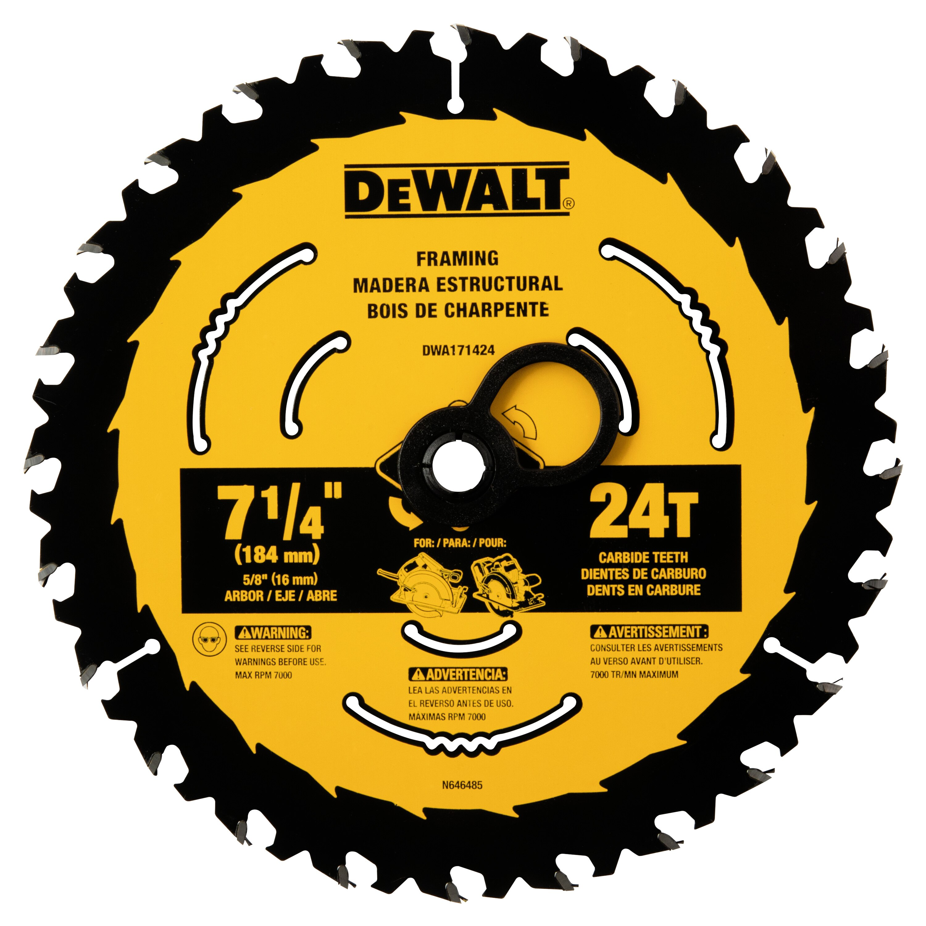 7 1 4 In Circular Saw Blades Dewalt