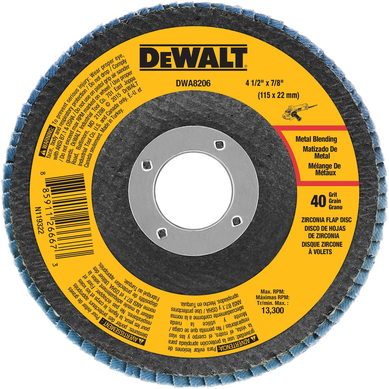 "20 PK 4-1//2/"" X 7//8/"" Premium Zirconia Flap Disc Grinding Wheel Sand Paper 80 Grit"
