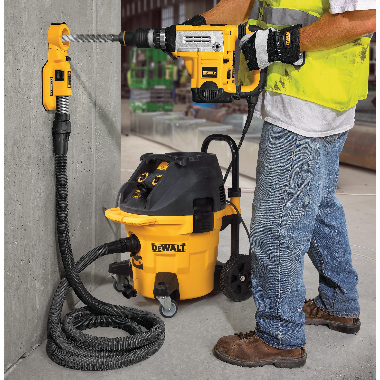 Dewalt Dust Extractor >> Large Hammer Dust Extraction - Hole Cleaning - DWH050K | DEWALT