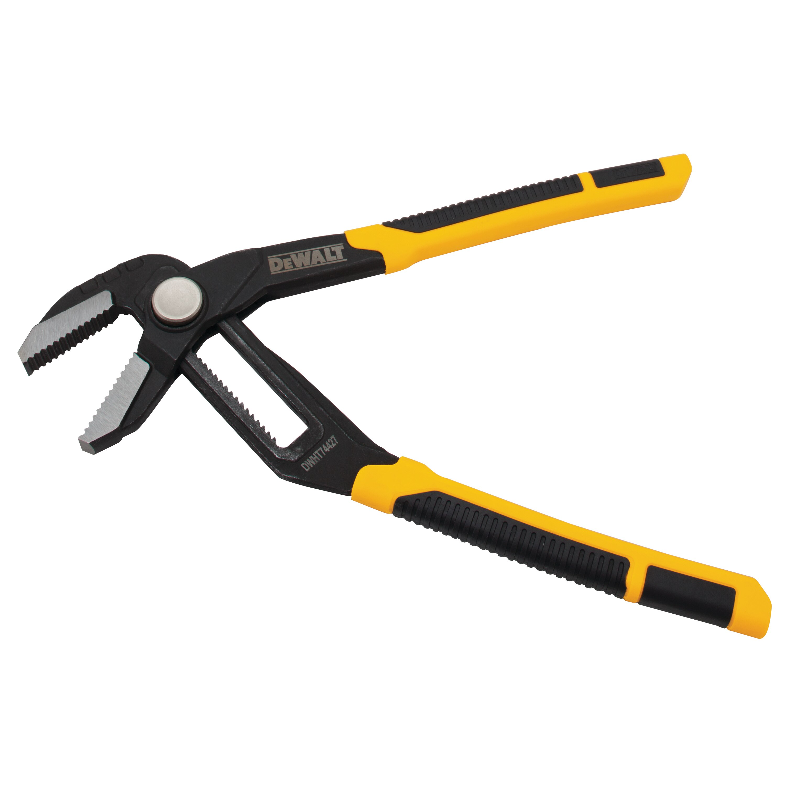 DeWALT DWHT74428 8 and 10-Inch Non-Pinching Push Lock Wide Straight Jaw Pliers