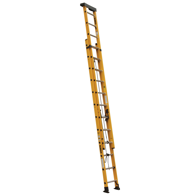 24 Fiberglass Extension Ladder 300 Lbs Load Capacity Dxl3020 24pt Dewalt